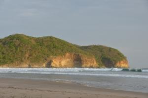 The beach at Mukul Resort, Nicaragua